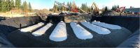 <p>Six double wall fiberglass underground storage tanks being installed for the Intercity Bus Transit Facility located in Olympia, WA.</p>