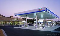 <p>New Chevron Gas Station at the Airport Business Center in Santa Rosa, California.</p>