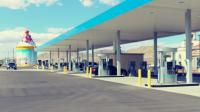 <p>Ground-up gas station for eddie-world with 125,000 gallon water tank.</p>