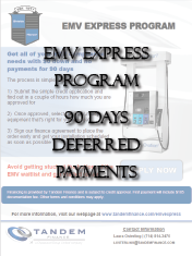 EMV Express 90 days deferred