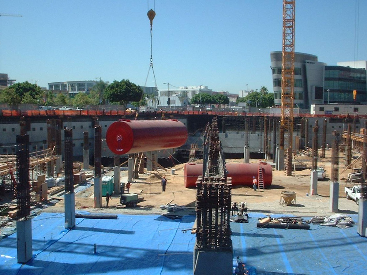 construction of hotel emergency reserve fuel system in los angeles