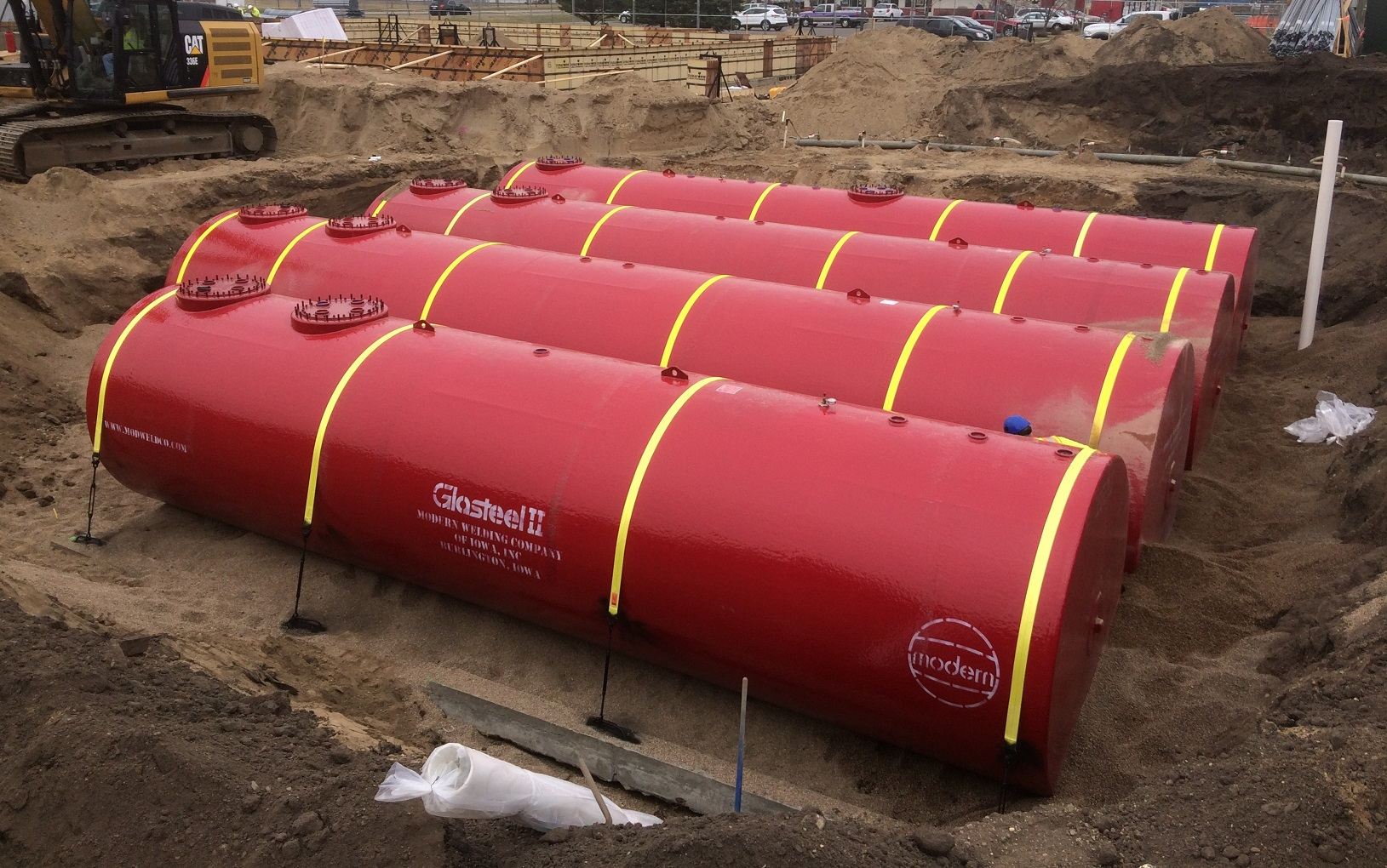 Modern Welding Glasteel II fuel underground storage tanks